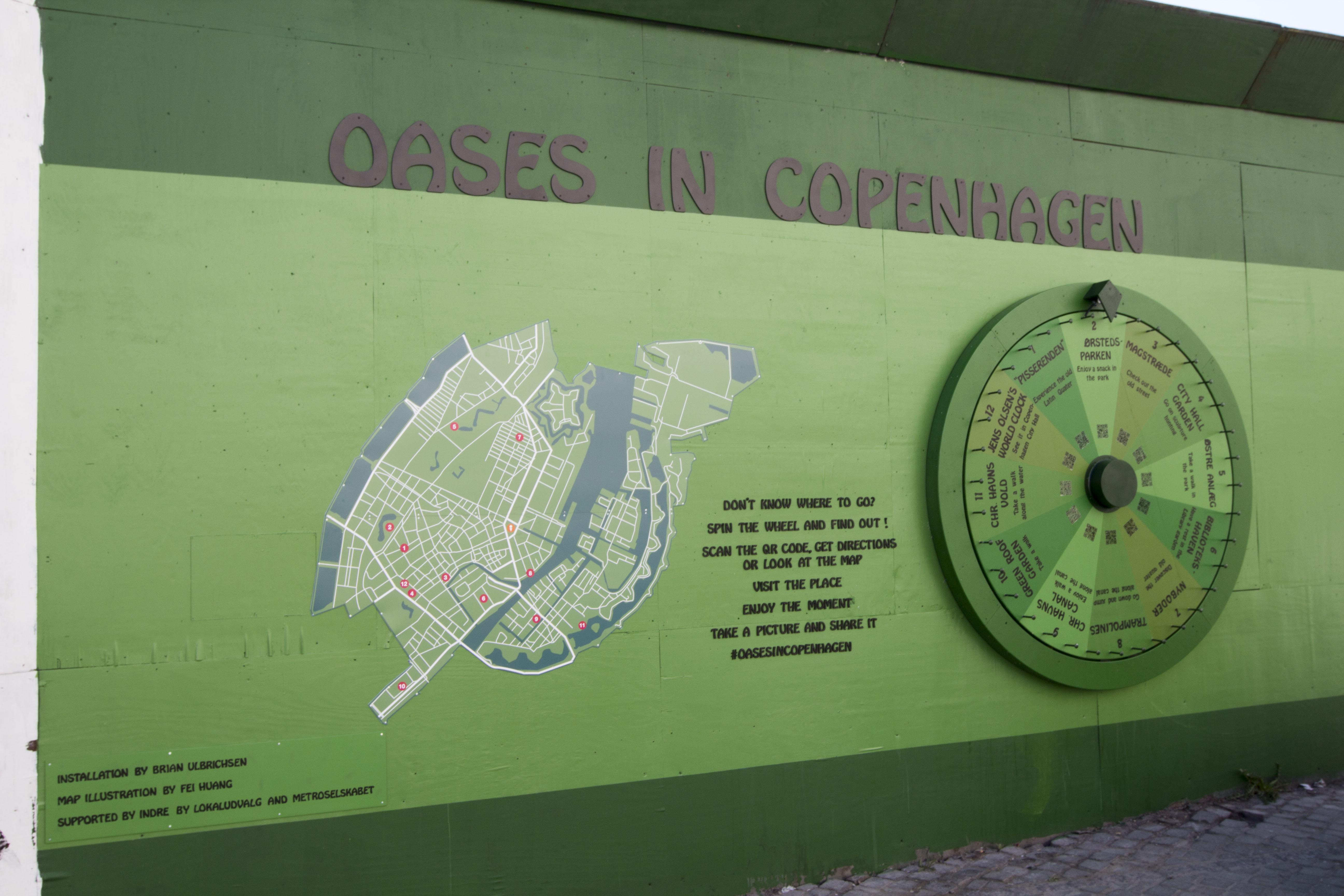 Oases in Copenhagen